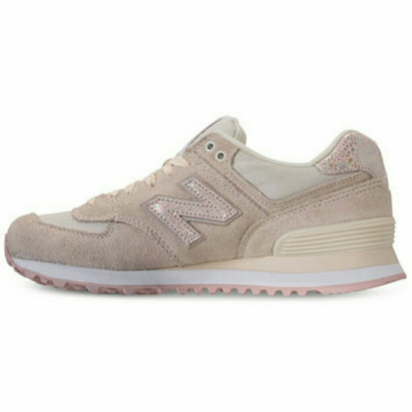 size 40 4d89b 38af6 New in box New Balance 574 Shattered Pearl